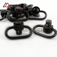 Wholesale Hunting Swivel - Magaipu 10pcs Hunting Accessories Heavy Duty Push Button QD Swivel Quick Detach Sling Mount Stud Adapter Fits Bolt Action Rifle Shotgun.