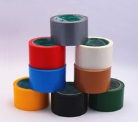 Wholesale Duct Cloth - Wholesale- 2016 15 yards x 45 mm Colored Duct Gaffa Gaffer Waterproof Self Adhesive Repair Cloth Tape