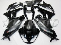 Wholesale Kawasaki Ninja 636 Fairings - New Motorcycle ABS bike Fairings kit Fit for KAWASAKI Ninja ZX6R 636 2009 2010 2011 2012 599 09 10 11 12 6R Bodywork set black matte glossy