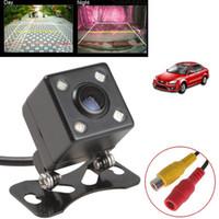Wholesale Pe Camera - Universal IP67 Waterproof Rear View Camera LED Car Back Reverse Camera RCA Night Vision Parking Assistance Cameras