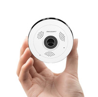 Wholesale webcam ip wifi online - Fisheye VR Panoramic Camera HD PH Wireless Wifi IP Camera Home Security Surveillance System Camera Wi fi degree Webcam