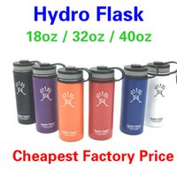 Wholesale Coffee Mug Sleeve - 18oz Hydro Flask Vacuum Insulated stainless steel Water Bottle Wide Mouth Tumbler Rambler Travel Mug Coffee Cooler for outdoor sports