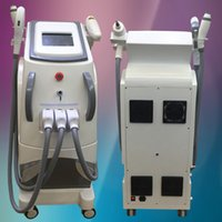 Wholesale Radio Frequency Ipl - 3In1 IPL E-light e machine Hair Removal skin rejuvenation system Yag Laser Pigment Wrinkle Tattoo Removal RF Radio Frequency Skin Care