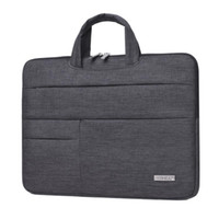 Wholesale free laptop cases - 2017 New Brand Laptop Handbag Sleeve Case 13 14 15 inch Bag Notebook For MacBook Air Pro 13.3 Free Shipping