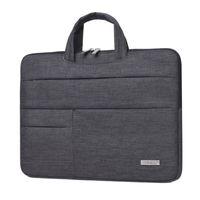 étuis gratuits pour ordinateur portable achat en gros de-2017 nouvelle marque portable sac à main sac à main 13 14 15 pouces sac portable pour MacBook Air Pro 13.3 Livraison gratuite