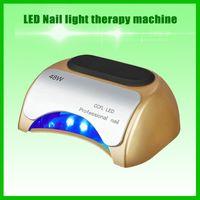 armadura led venda por atacado-Sensor de infravermelho automático / 48w terapia de luz secador de unhas / máquina de terapia de luz LED armor