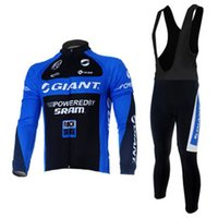 Wholesale Giant Cycling Thermal Clothing - Highly Quality giant Winter Thermal Fleeced Cycling Jerseys Mountain Bike Cycling Clothing MTB Ropa Ciclismo bicycling maillot Culotte