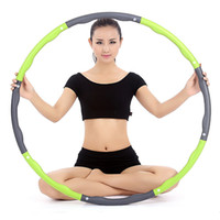 Wholesale 8 pieces can be removed by the foam hula hoop Abdomen thin waist Soft and not painful