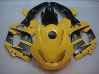 Wholesale Yellow Thundercat - Full Body Kits Thundercat 98 99 Body Kits YZF 600R 02 03 Yellow Black Plastic Fairings for YAMAHA YZF600R 96 97 1997 - 2007