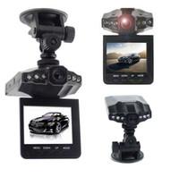 Wholesale record camera hot resale online - 2016 Hot Selling quot Car DVR LED car detector Night Vision Recorder Dash Cam aircraft head car camera angle Vehicle DVR