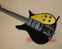 Wholesale Bar Electric Guitar - Wholesale-High Recommend-Fire Electric Guitar,3 Pickups,Twinkling Pickguard,Little Bar,Chrome Hardware,Short Scale Length,can be Customize