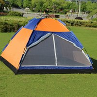 Wholesale Used Play - 2.5*2.5*1.7M Auto Tent Camping Tents Single Wall Waterproof Rain Proof Lightweight Tents For Outdoor Camping Hiking Play Use 6 People