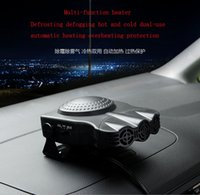 Wholesale 12v defroster fan - 12V 150W-200W Portable Auto Car Heater Heating Fan with Swing-out Handle Driving Enthusiasts Car-Styling Defroster Demisterr