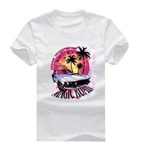 Wholesale Rod Sleeves - Magic Road Hot Rod New Fashion Men's T-shirts Short Sleeve Tshirt Cotton t shirts Man Clothing Free Shipping