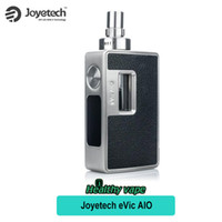 Wholesale Evic Kit Electronic Cigarette - Joyetech eVic AIO Starter Kit 75W All-In-One RTC  VW  VT Kit with 3.5ml Tank Atomizer Electronic Cigarette