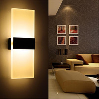 Wholesale g4 led lamp indoor - New Modern 3W 6W Aluminum Wall Lights Kitchen Restaurant Living Bedroom Indoor Bathroom Fixtures Led Wall Sconce Lamps