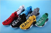 Wholesale People Shoes - 2017 Williams Pharrell x yellow NMD Human Race People Racing Shoes HumanRace red white Black NMD Shoe NMD HUMAN RACE eur 36-45