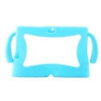 Wholesale Universal Kids Tablet Case - Colorful Big kawaii Ears Series Safety Soft Silicone Gel Cover Case for Q88 7 Inch Android Tablet PC Cases universal Kids Children