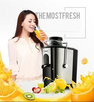 Large Feed Chute Whole Slow Juicer, extractor de jugo de baja velocidad, fruta cítrica de vegetales, 2015 New arrival Juice maker