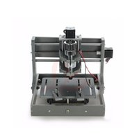 Wholesale Cnc Engravers Routers - CNC router machine 2020- Frame with motor mini engraver home cnc machine for small working area russin free taxes