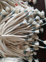 Wholesale Drawstring Cords - twisted cord drawstring with multi thread wrap ends