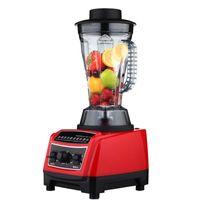 Wholesale Commercial Juicer Vegetable - 1800W Commercial Blender Mixer Juicer Food Processor Smoothie Bar Fruit Electric Food Machine 28000R min Cooking Machine