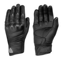 Wholesale Goatskin Gloves - Wholesale- 2017 Motorcycle Gloves Men Goatskin Leather Glove Full Finger Luvas Retro motorcycle gloves Motorbike Bicycle Bike MotoGP Luvas