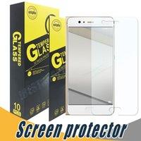 Wholesale film unions - 9H 2.5D Shock Proof Tempered Glass Screen Protector Film For Huawei P8 Lite Y3 Y5 Y6 Y600 Y360 Y536 Union Y538 Y530 Y550