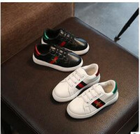 Wholesale Girls Sports Shoes Size 36 - Classic Style Children Shoes Boys Sneakers Spring Autumn Sport Solid Soft Girls Shoes Outdoor Running Kids Shoes Size 26-36