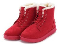 special edition solid - Winter specials every day han edition of sweet candy color boots students short boots boots with cotton shoes