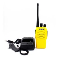Wholesale Cheap Baofeng Radio - Handheld Portable Radio Baofeng BF-888S Walkie Talkie 5W UHF 400-470MHZ Yellow 1500MAh Li-ion Cheap Analog Radio