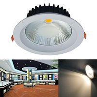 Jiawen 20W LED Plafonnier Anti-éblouissement Embedded Downlight encastré LED Spot Spot Down Down AC 85-256V