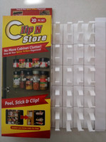 Wholesale Home Kitchen Organizer Clip N Store Spice Clips for Spice Organizer Spice Storage