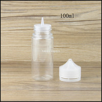 Fabrication en Chine de Chubby pet plastic 100ml clear ejuice packaging vape e-liquid bottle with free shipping