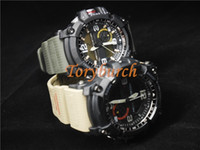Wholesale Thermometer Digital Watches - New AAA top quality relogio GG1000 compass Thermometer army men's sports watch military all functions SHOCK resist water wristwatch no box