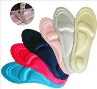 zapatos de las plantillas de la memoria al por mayor-Plantilla de espuma de memoria Tamaño de almohadillas Plantillas de masaje de pies ajustables Fascitis plantar Zapato plantilla almohadillas Hombres y mujeres