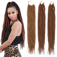 Synthétique Xpression Braiding Hair Extensions Twists Cheveux Synthétiques Cheveux Brown Crochet Kanekalon Braiding Hair Extensions 18