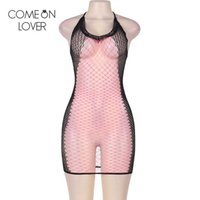 Wholesale Cotton Baby Doll Sleepwear - HL3149 Comeonlover fishnet sexy lingerie women popular pink rave baby doll sexy lingerie fashion sleepwear women sexy costume