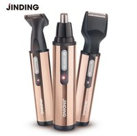 Wholesale Rechargable Electric Shaver - RF-3007 3 in 1 New Electric Nose Ear Beard Hair Trimmer Washable Rechargable Men's Shaver Clipper Cleaner Remover Safe Face Care
