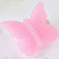 Wholesale Wholesale Favor Candles Weddings - Pink Butterfly Birthday Party Candles Christmas Gift Creative Outdoor Candles Wedding Floating Candle Favor-Baby Shower Favors Gifts