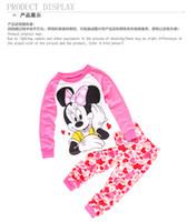Wholesale Children S Christmas Pyjamas - 2017 Spring and autumn Children's pajama sets boy winter pyjamas kids pajamas girl Thickening Three warm children 's home service