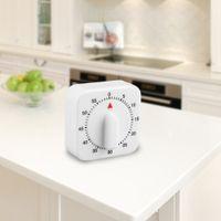 temporizadores de plástico al por mayor-T203 de plástico 60 minutos mecánico de la cocina temporizador de cocina preparación de alimentos hornear reloj despertador herramienta de cocina