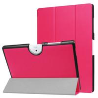 tablet acer iconia china al por mayor-Funda delgada de cuero con soporte de PU para Acer Iconia One 10 B3-A40 10.1 '' Tablet + Stylus Pen