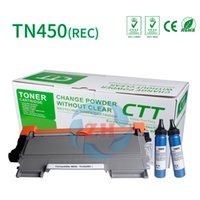 toner cartridges al por mayor-Cartucho de tóner TN450 REC 2BP Compatible para Brother HL-2280DW FAX-2840 2940 Brother: MFC7360DN / 7860DW / DCP7060D / TT2250D / 2240 Lenovo: LJ2400 /