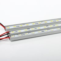 Wholesale Smd 3528 Led Strip Multicolor - 10 20pcs Multicolor super bright DC 12V 36SMD 5630 5730 LED Hard Rigid Strip Led Bar Light Aluminium Alloy For Cabinet