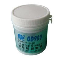 Wholesale Cpu Used - Wholesale- 150 Grams GD900 Thermal Conductive Grease, Gray Paste Silicone Plaster Heatsink Compound, Used For CPU LED CN150