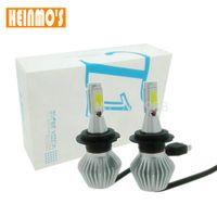 Wholesale H8 Led Fog Light Bulb - New 36W 12V H7 Car LED headlight headlamp bulbs LED Auto headlight DRL Fog Driving Head Lights H1 H4 H7 H8 H9 H11 HB3 HB4 H13