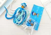 Wholesale Earphone Winder Cable Tidy - 3D Cartoon Cable Charger Saver Protector Earphone Phone Cabels Wire Wrap Tidy Winder Tools Cable Wire Wapper 4pcs set Protective Covers