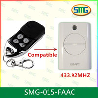 Wholesale Automatic Gate - Wholesale- Compatible with FAAC 433.92mhz remote for Automatic Gate