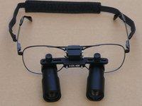 Wholesale Surgical Microscope Glasses - GM 4.5X 4X 3.5X 3X 2.5X Operating magnifier GM4X Loupe Glasses type Magnifier 4X Magnifying Medicinal Dental Surgical Binocular Loupes
